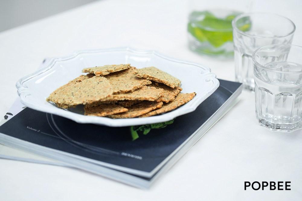 DIY 麥皮果籽脆餅