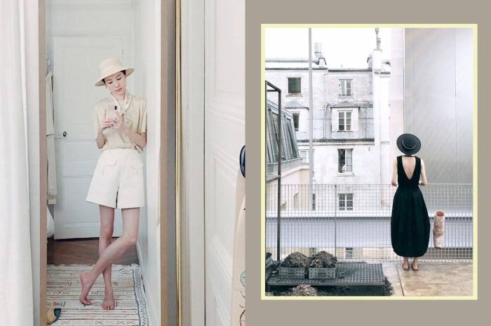 看這位住在巴黎生活的台灣女生,每一套穿搭都是滿分的 Effortless Chic!