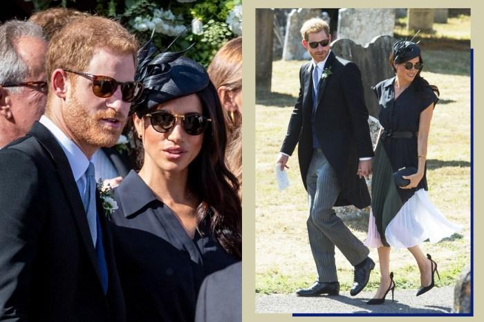 優雅背後的插曲:哈里王子和梅根被拍到一個鞋底破洞一個露出內衣!