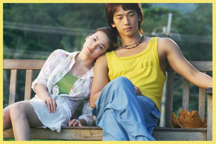 被目擊跟太太在帛琉度假,Rain 用一件背心就把《浪漫滿屋》一幕重現!