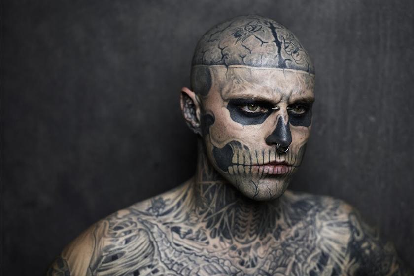 rick genest zombie boy died at 32