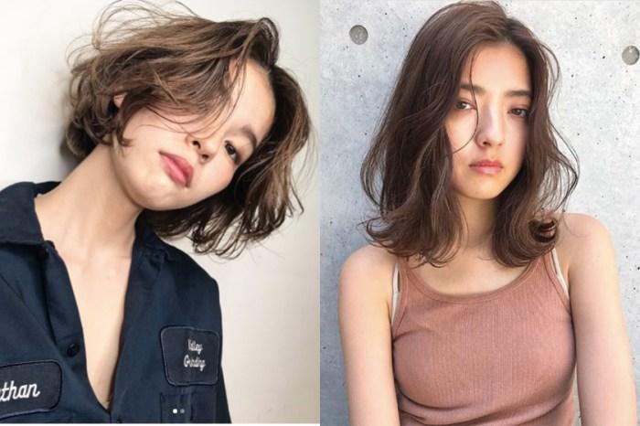 界乎幹練與女人味之間:這種空氣感中短髮,就是日本女生大愛的氣質髮型!