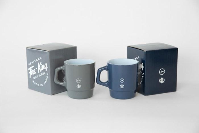 再次出手!Starbucks x 藤原浩 x Fire-King 推出收藏度極高的聯乘系列