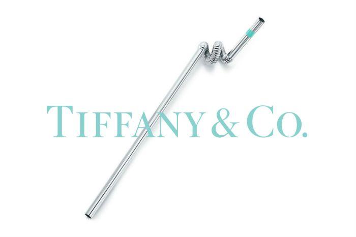 減塑也要時尚?Tiffany & Co. 推出天價環保吸管「Crazy Straw」