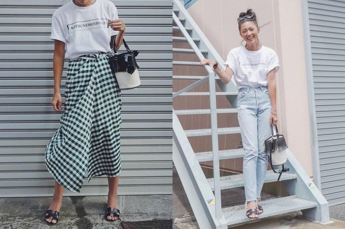 這位日本女生每天穿 Tee 卻讓人看不膩,原來真實身份是 T-Shirt 品牌主理人!