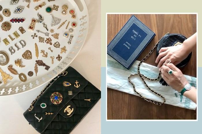 一次將紅酒打翻的意外,這個韓國女生創立了專門「加工 Vintage 手袋」的品牌!