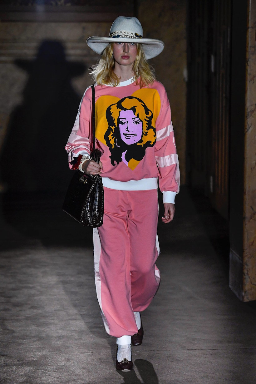 Gucci spring MFW ready to wear alessandro michele fashion show micky strawberry pig