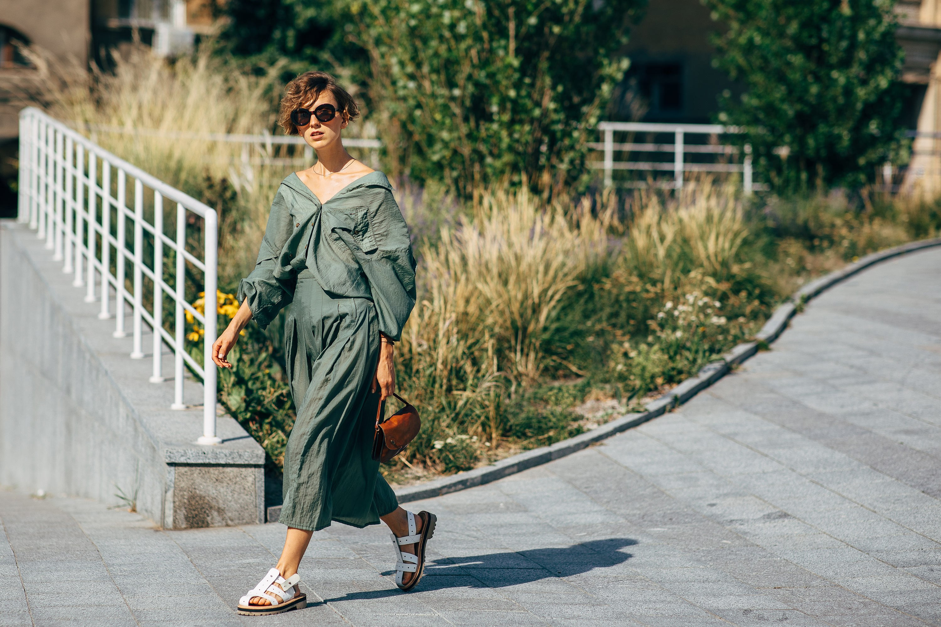 Street Style From Ukrainian Fashion Week Spring 2019