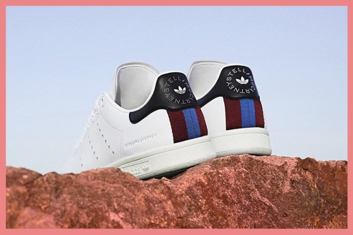 全力推動綠色時尚:Stella McCartney 聯乘 adidas,推出首雙純素皮革 Stan Smith!