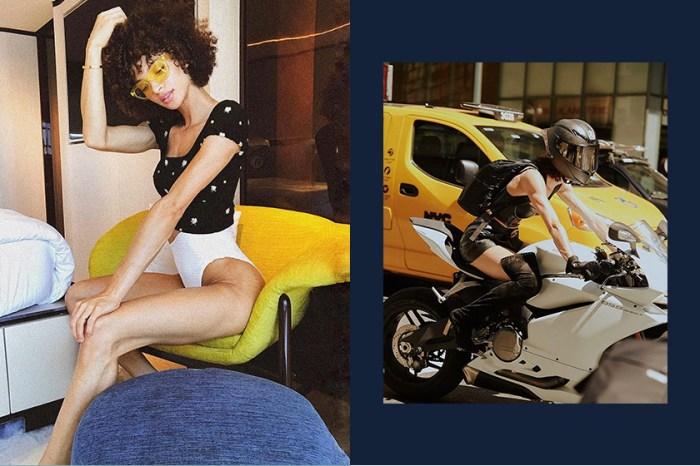 首位騎重機參加 Victoria's Secret 試鏡的超辣模特,面對質疑她這樣回應!