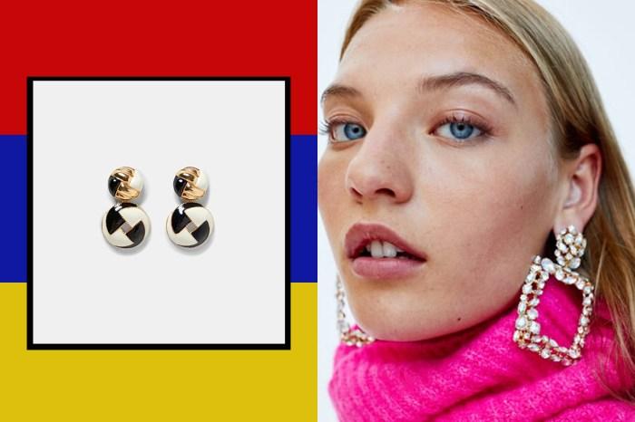 讓 80 年代浮誇華麗風繼續吹:精選 8 對 Zara 復古耳環,多看一眼妳也會心動