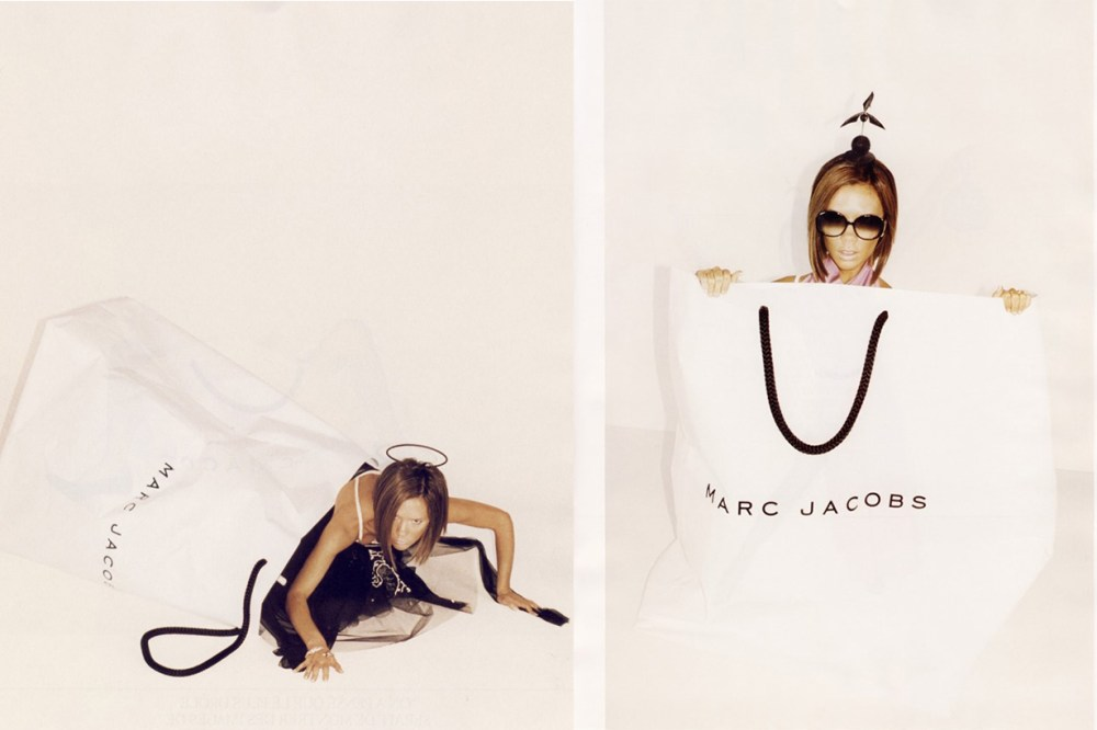 Victoria beckhams brand decadal anniversary pays tribute to Marc Jacobs