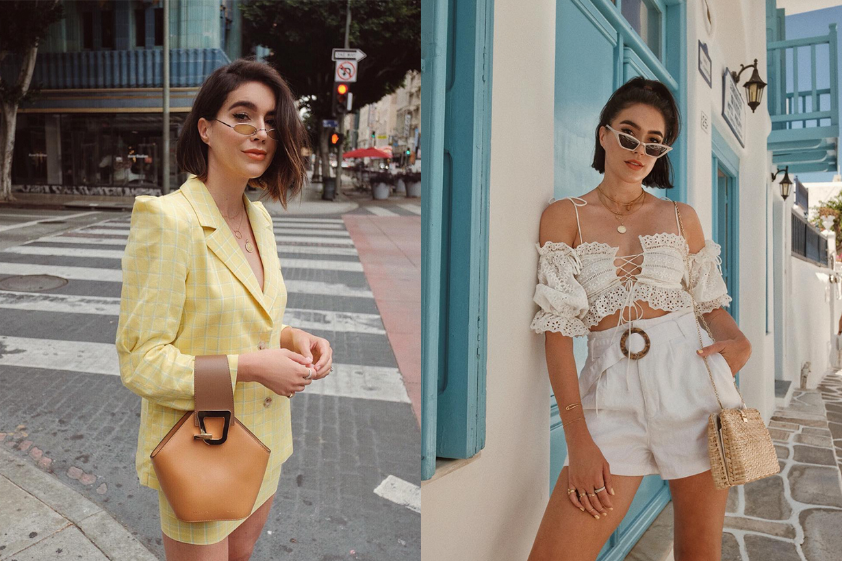 instagramer Brittany Xavier use the same item to repeat the fashion wear