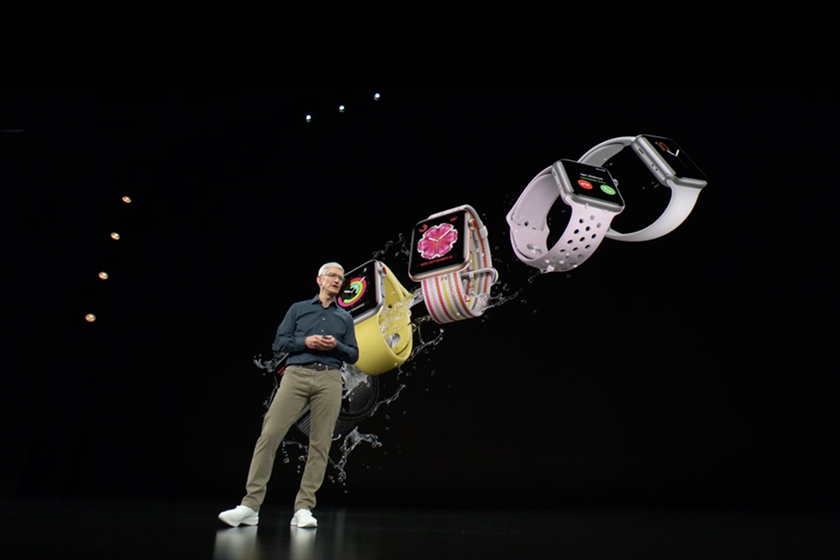 Apple Gather Round event Apple Watch Series 4