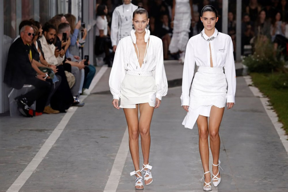 Bella and Kendall Off White 2019