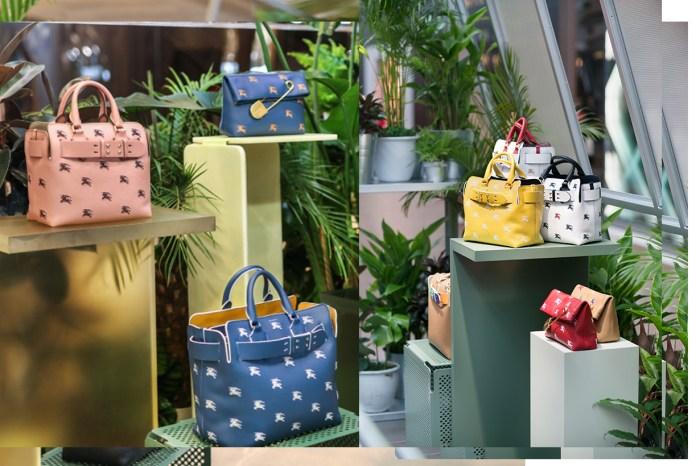 Burberry 時尚 Belt Bag,中環置地開設 Burberry Conservatory 期間限定店