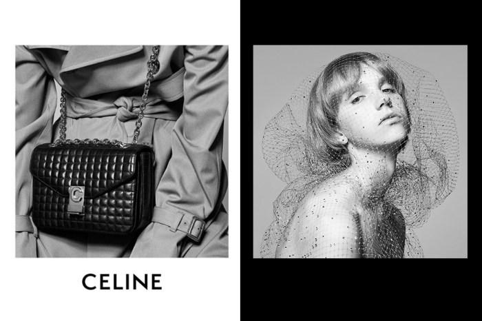 Celine 第二款手袋亮相,預告 Hedi Slimane 會將經典情懷帶到 #PFW!