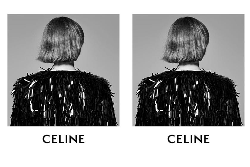 Celine by Hedi Slimane first look