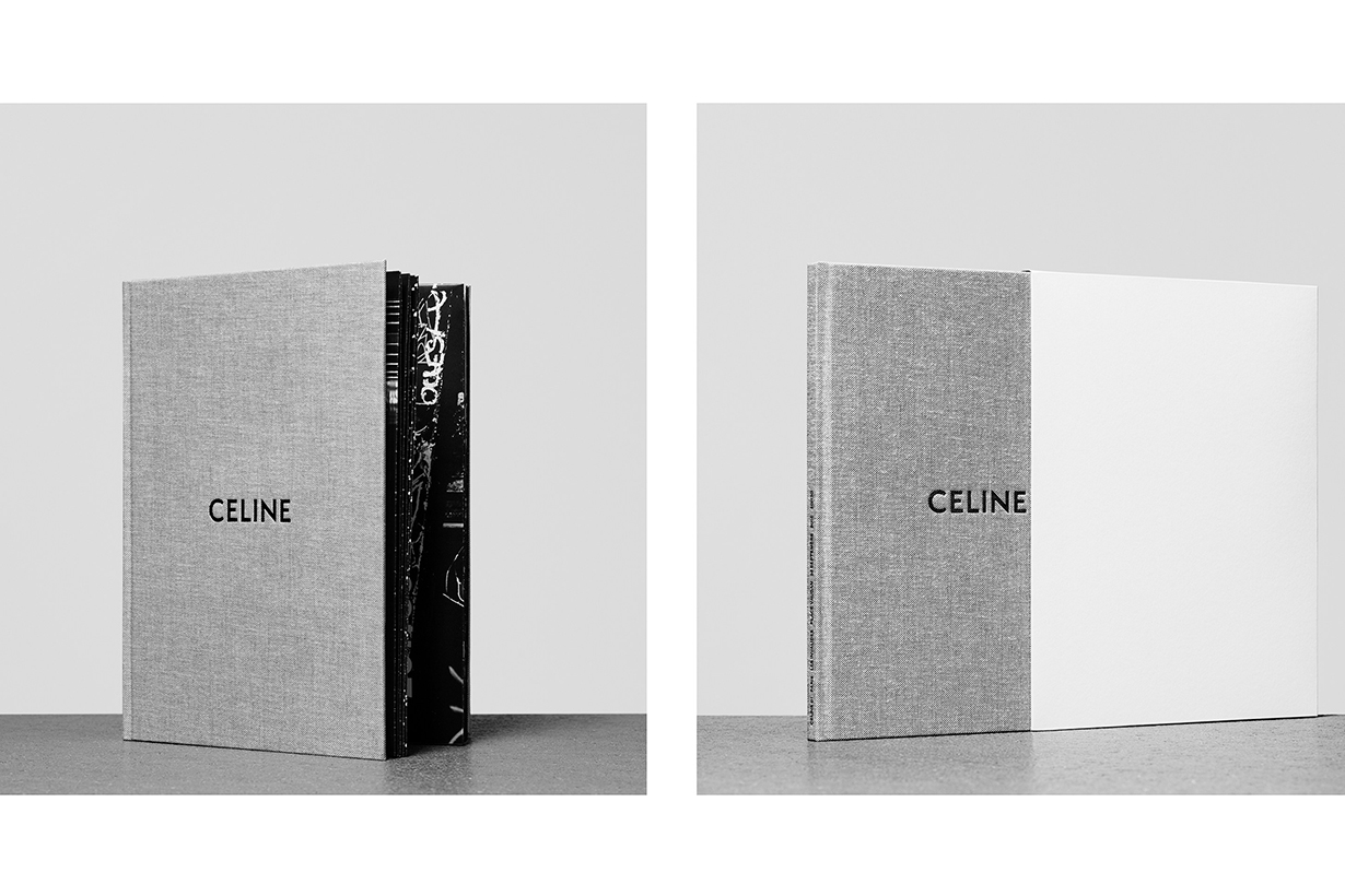 Celine by Hedi Slimane ss 2019 INVITATION card