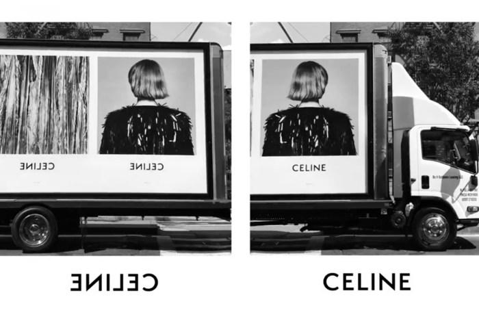 顛覆 Phoebe Philo 的低調路線,Hedi Slimane 大膽以貨車為 Celine 賣廣告!