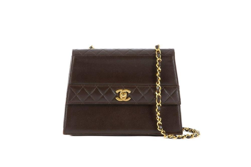 Chanel Quilted Detail Shoulder Bag