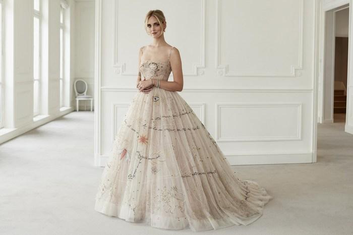 Chiara Ferragni 的 Dior 婚裙仙氣襲人,還甜蜜隱藏了與 Fedez 的愛情秘密!