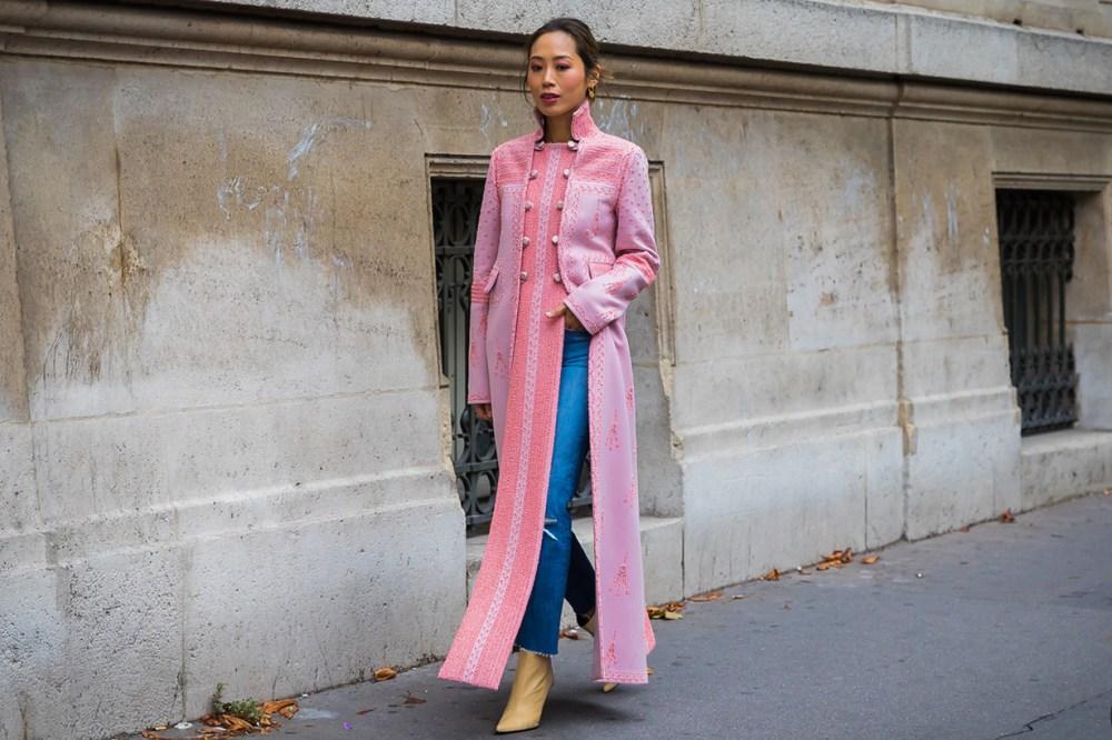 Aimee Song Fashion Week Street Style