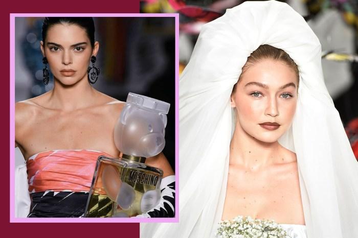 #MFW:Gigi 穿起 Moschino 婚紗太美了,但 Bella 和 Kendall 都不輸氣勢!
