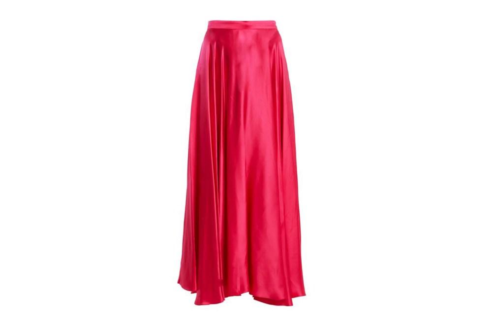 Gucci Silk-Blend Skirt