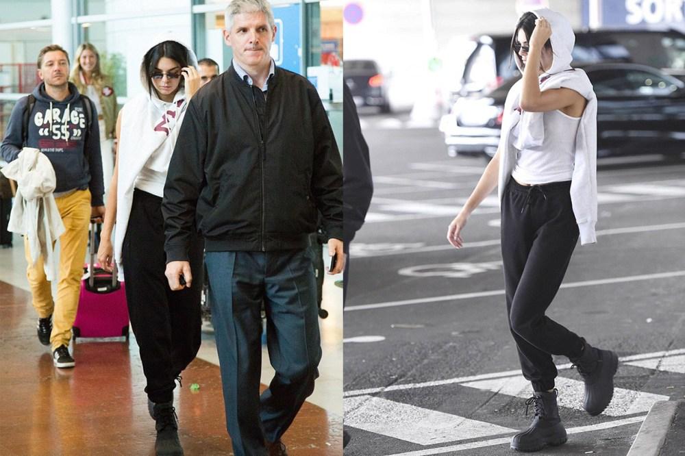 Kendall Jenner Paris Airport