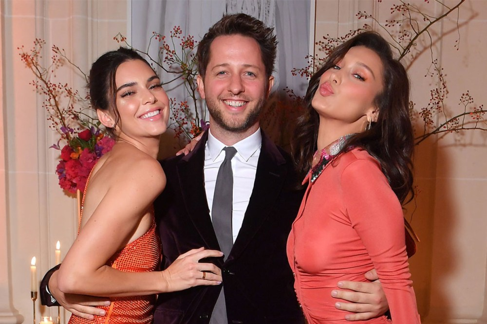 Kendall Jenner and Bella Hadid Paris Cocktail Party