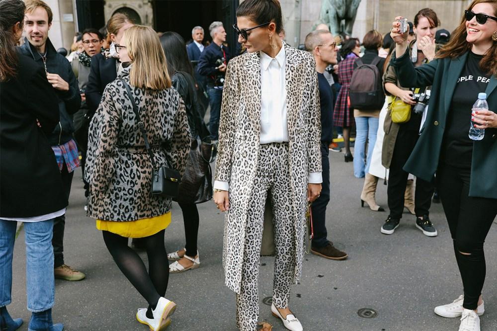 Fashion Week Street Style 2019 Leopard Prints