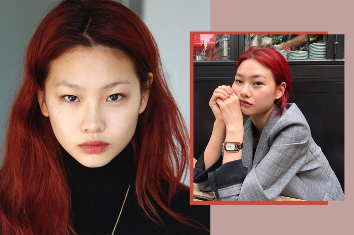 天橋新寵韓國模特 HoYeon Jung,用 15 張私照帶大家遊走 #NYFW 後台!