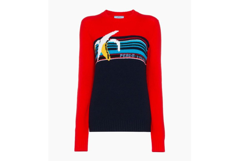 Prada Banana Knit Jumper