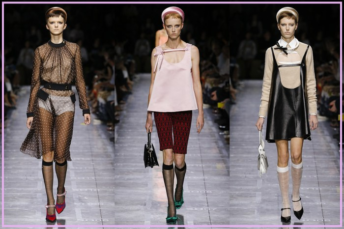 #MFW:要當 Prada 春夏季的前衛女孩,關鍵原來是露出「它」打造年輕感!