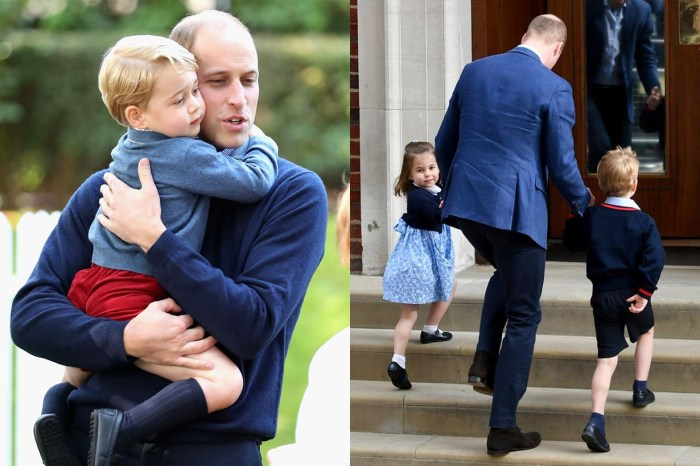 收到給喬治小王子的特別禮物,威廉王子卻似乎不太高興!