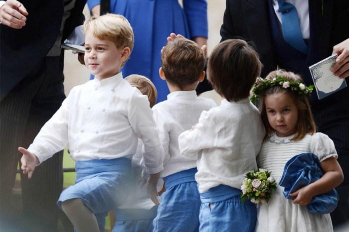 夏洛特公主是最可愛的伴娘!喬治王子這次參加婚禮還有沒有害羞呢?