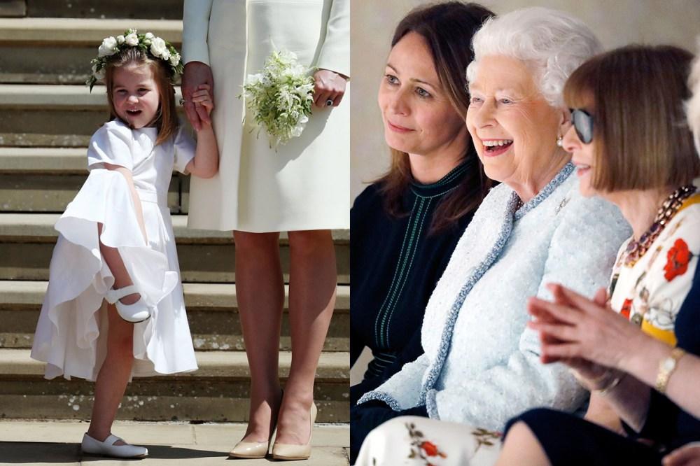 Princess-Charlotte Queen Elizabeth II