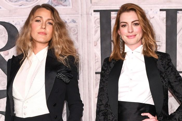 #NYFW : Blake Lively 與 Anne Hathaway 睇秀撞衫?孖公仔現身紐約時裝週!