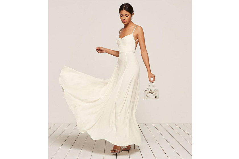 Reformation Thistle Dress Wedding Dress