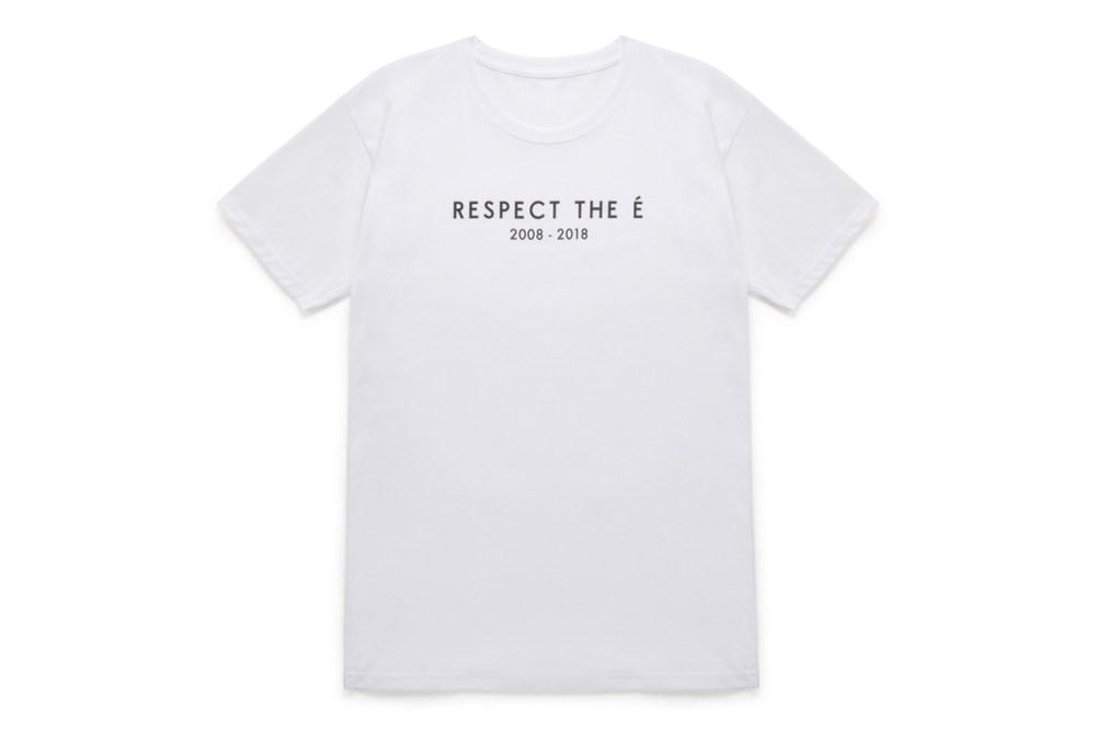 Respect The É White Short Sleeve T-Shirt