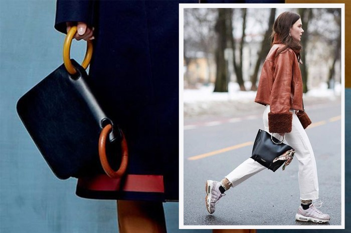 Roksanda 的圈扣袋超漂亮!是要與 J.W Anderson 等品牌聯手掀起 Ring Bag 熱潮嗎?