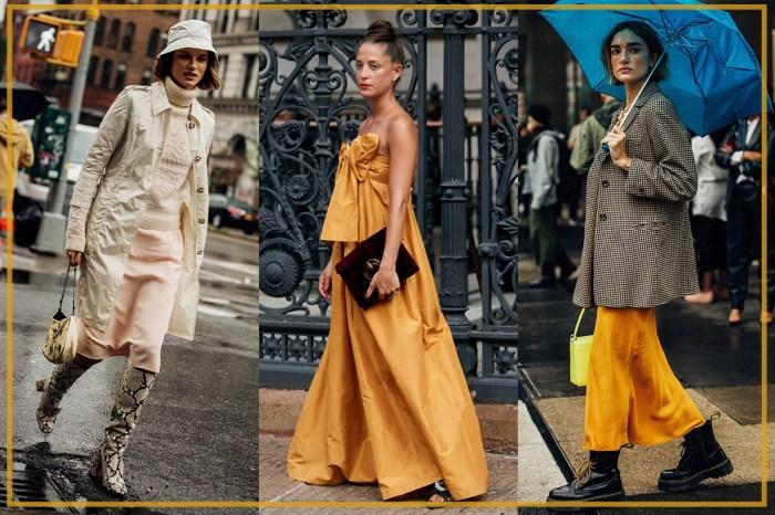 聚焦 #NYFW 的街頭時尚達人,入秋之後就穿起這 5 大流行單品!
