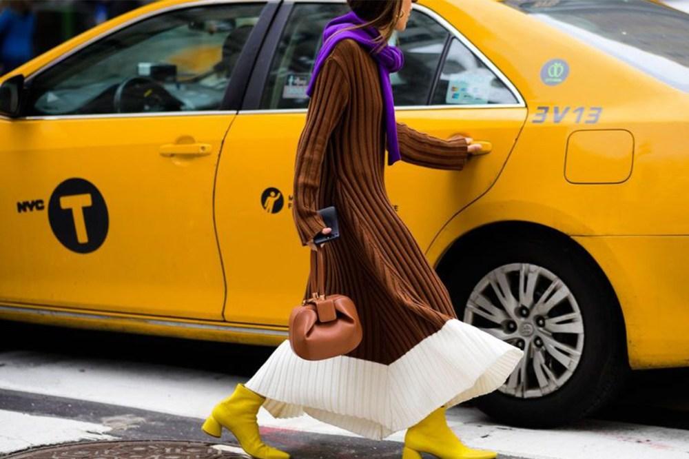 Fashion Week Taxi