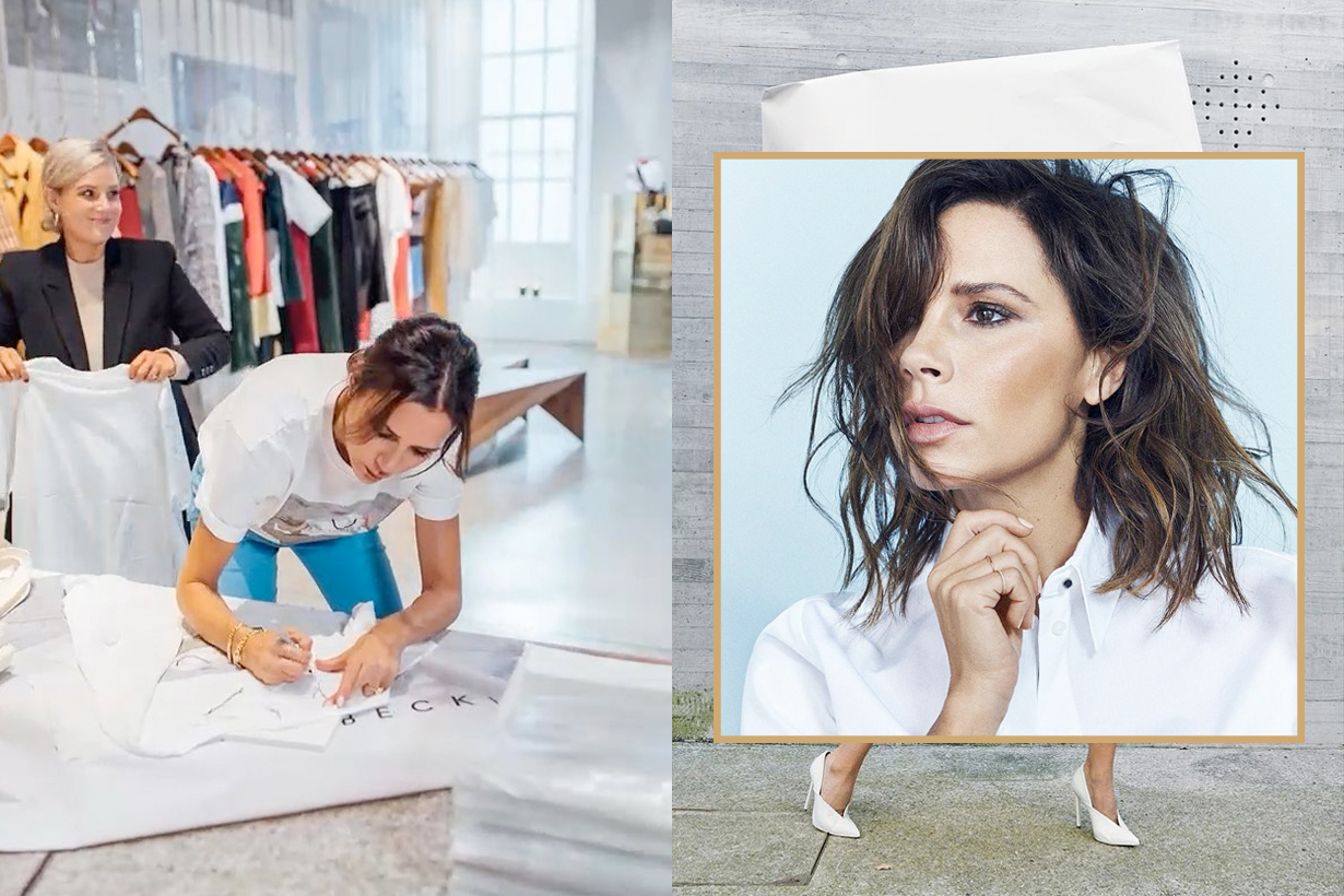 victoria beckham confess not popular at school successful reason believe yourself anniversary