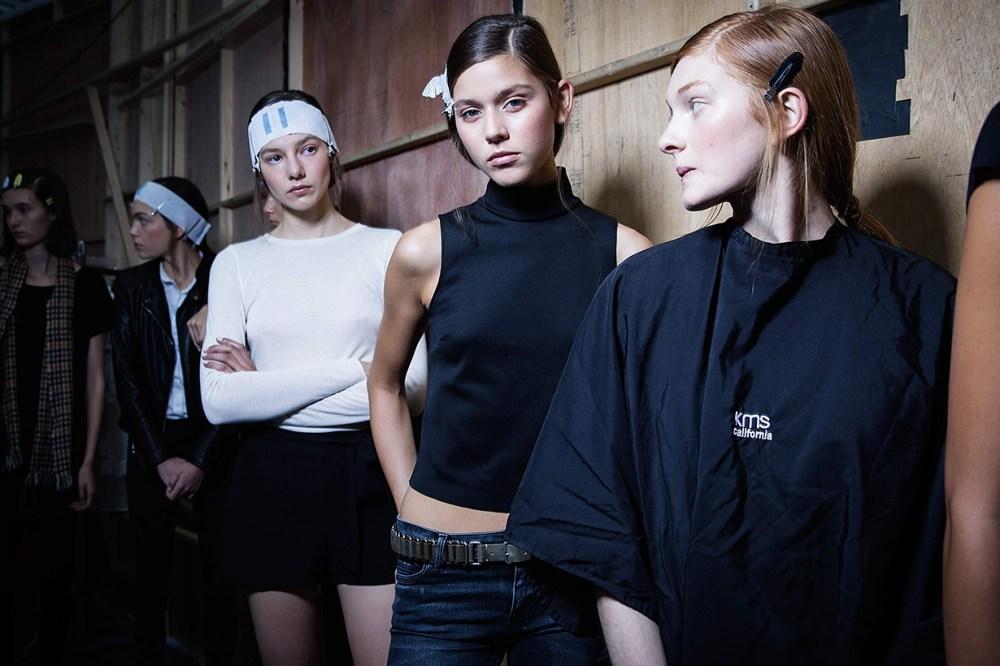 Fashion Show Backstage Models