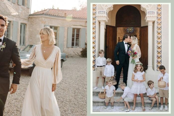 巴黎博主 Adenorah 穿上婚紗的模樣,會讓妳更憧憬一場隨意、浪漫的法式婚禮!