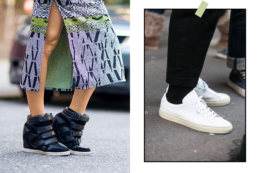 Wedge Sneakers white sneakers