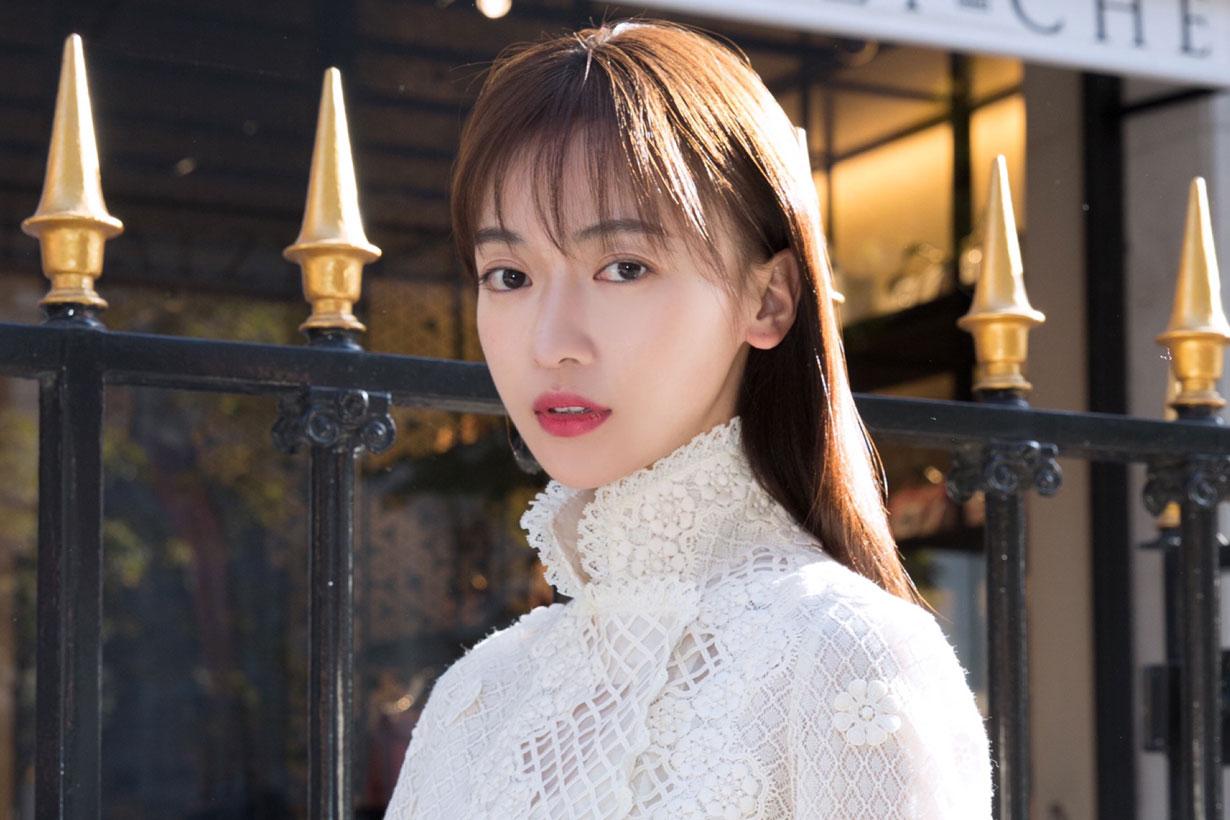 Wu Jinyan wear Shiatzy Chen 2018
