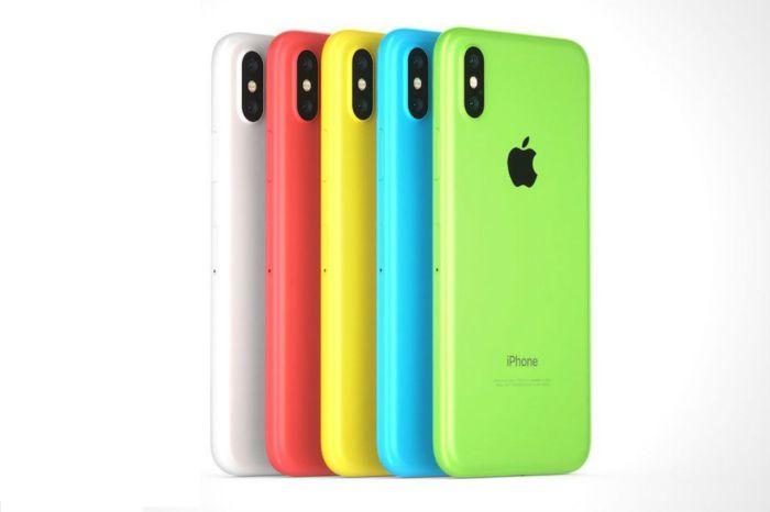APPLE 最新 iPhone XC 實體圖片外流,這三種配色有中你眼嗎?
